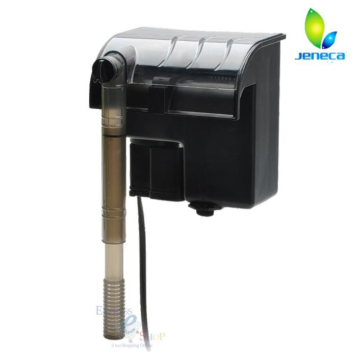 Filtro esterno a zainetto cascata 500 l h acquario per for Acquario con filtro esterno